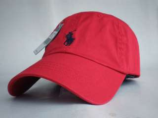 NWT Polo Ralph Lauren Classic Baseball Cap with Pony Logo Hat Back