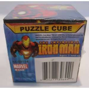 The Invincible Iron Man Puzzle Cube