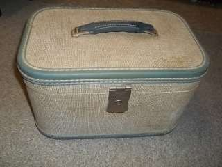 Cream Mixed Color ??? Train Carry On Makeup Bag good for decor