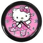 New Hello Kitty Wall Clock Home Room Decor