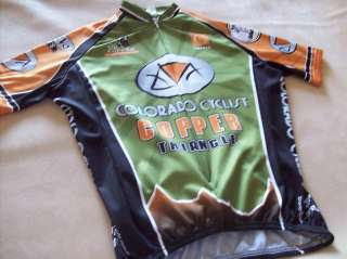 CYCLING BICYCLING JERSEY COLORADO CYCLIST SMALL