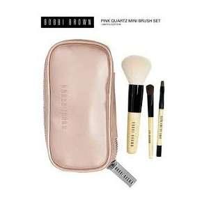 Bobbi Brown Pink Quartz Deluxe Mini Brush Set Face Brush Eye Shadow