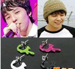 Korea BIG BANG BIGBANG G Dragon Blood Earrings (EACH)