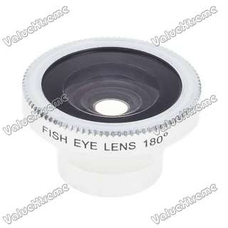 15mm Detachable 180 Degree Wide Angle Fish Eye Lens for Cell Phones