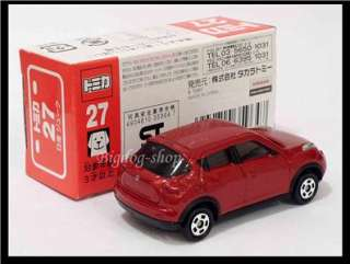 TOMICA #27 NISSAN JUKE 1/64 TOMY 2010 DEC NEW MODEL