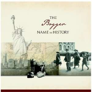 The Bogger Name in History: Ancestry Books