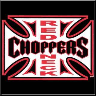 Redneck Choppers Funny Rebel Biker Shirt S 2X,3X,4X,5X