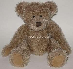 RUSS HARLINGTON Plush Brown Teddy Bear Doll Stuffed Animal Toy Scruffy