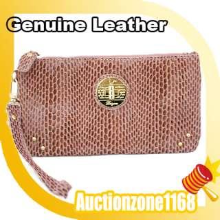 Trendy Fashion Ladies Women Geniune Leather Wallet Clutch Purse hand
