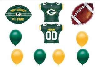 GREEN BAY PACKERS BIRTHDAY PARTY BALLOON Football NFL