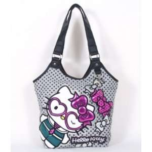 Hello Kitty Heart Glasses Tote Bag