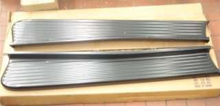 47 54 Chevy Pickup Truck Black Running Boards PAIR
