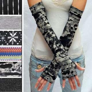 Warmers Mummy Gloves Thumb Hole Shirt Black Grey Gray Shirt Top