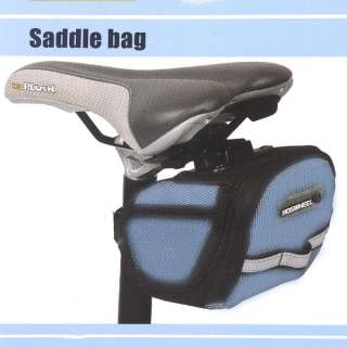 Cycling Bicycle Bike Saddle Bag Back Seat Storage Frame Pouch 600D