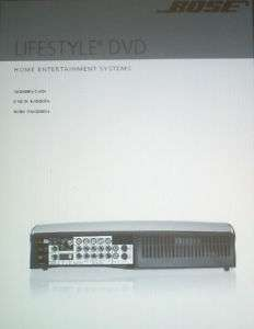 BOSE LIFESTYLE 28 SERIES III DVD INSTALLATION GUIDE BND