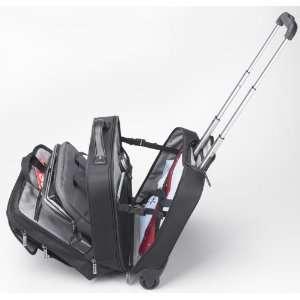 Microsoft 39202 Diplomat Rolling 15 Laptop Bag Case