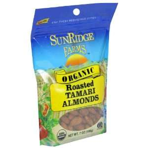 Sunridge Farm, Nut Almond Tamari Roasted Grocery & Gourmet Food