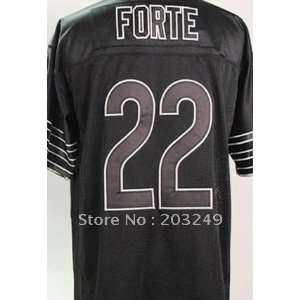 chicago bears #22 matt forte black jersey football jerseys sports