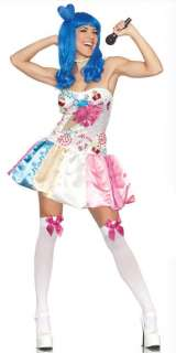 Sweet as Candy California Girl Adult Costume includes Dress with