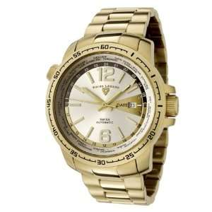 Swiss Legend Mens 10013A YG 22S World Timer Collection