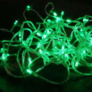 Green Color LED Rope Lights Home Auto Neon Lighting Christmas Festival