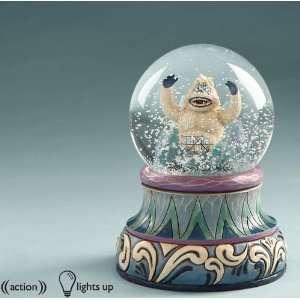 Jim Shore Rudolph   Bumble Light & Motion Waterball