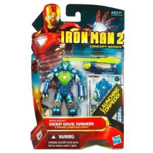 Series 4 Inch Action Figure Iron Man Deep Dive Armor Toys & Games