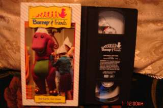 BARNEY Time Life VHS Video OUR EARTH,OUR HOME RARE #02 MINT COND FREE