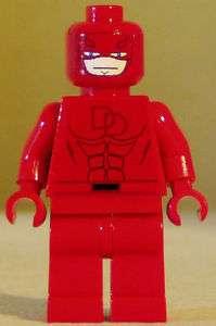Superhero custom Lego minifig Marvel Daredevil