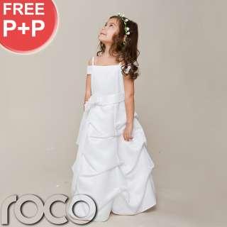 Dress Holy Communion Dress Bridesmaid Flower Girl Dress 2 9yrs