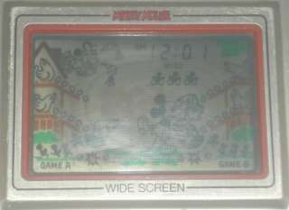 Nintendo Game & Watch Wide Screen MC 25 Mickey Mouse 1981