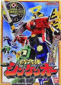 Rangers Samurai Sentai Shinkenger DX Shinken Oh Super Megazord