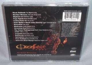 CD VA Ozzfest 2001 BLACK SABBATH Slipknot PAPA ROACH