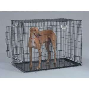 General Cage 2   X Two Door Black Wire Dog Crate Pet