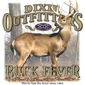 Boys Deer T Shirt Dixie  BUCK FEVER