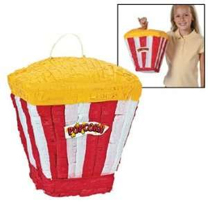 Movie Popcorn Piata   Party Decorations & Pinatas