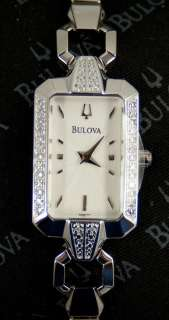 Bulova Ladies Diamond Watch 96R117