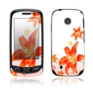 Flying Flowers Design Decorative Skin Cover Decal Sticker