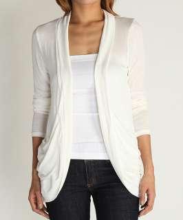MOGAN Slouchy Pocket Long Sleeve Jersey OPEN CARDIGAN Light Weight