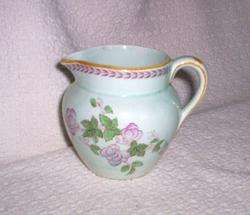 Vint Adams Calyx Ware METZ Hand Painted Creamer Pitcher