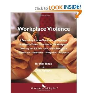 Workplace Violence (9780984403875): Ritz Rizzo & Don