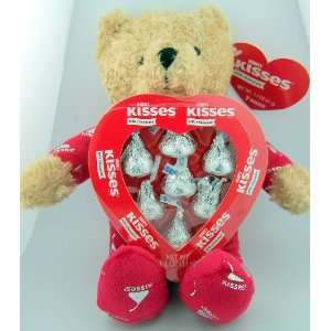 Plush Hershey Kisses Pajama Bear Valentines Day Gift 10