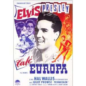 German 27x40 Elvis Presley Juliet Prowse Robert Ivers: Home & Kitchen