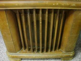 Philco 41 295 Console Antique Tube Radio Deco Wood Cabinet Parts