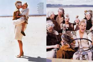 2000 Elgort Carmen Kass Mad Max 18pg magazine editorial