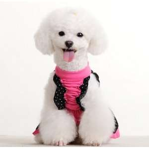 Spring Summer Pet Puppy Doggie Clothes Gentlewoman Flowers