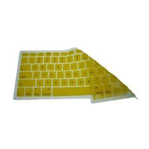 New Yellow Silicone Keyboard Skin for New Macbook Air Electronics