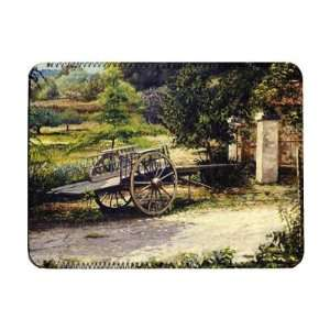 Old Cart, Vichy, France, 1998 (oil on..   iPad Cover