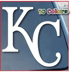 Kansas City Royals KC Car Window Vinyl Decal Sticker 8 Tall (Color