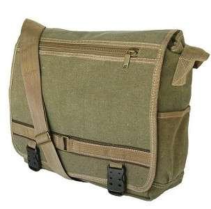 Military Style Canvas Messenger Bag Bookbag Backpack